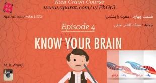 مدرسه روانشناسی: مغزت را بشناس!( جلسه چهارم )+ویدئو