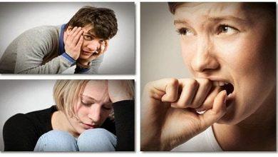 اضطراب، افسردگی و استرس