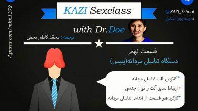 کلاس جنسیت: قسمت نهم دستگاه تناسلی مردانه (پنیس)